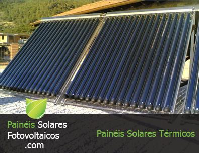 Exemplo de Paineis Solares Térmicos